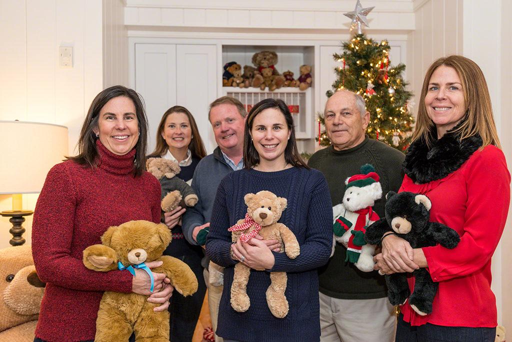 Point B Realty Sales Brokers & Agents Martha's Vineyard Teddy Bear Suite Volunteers