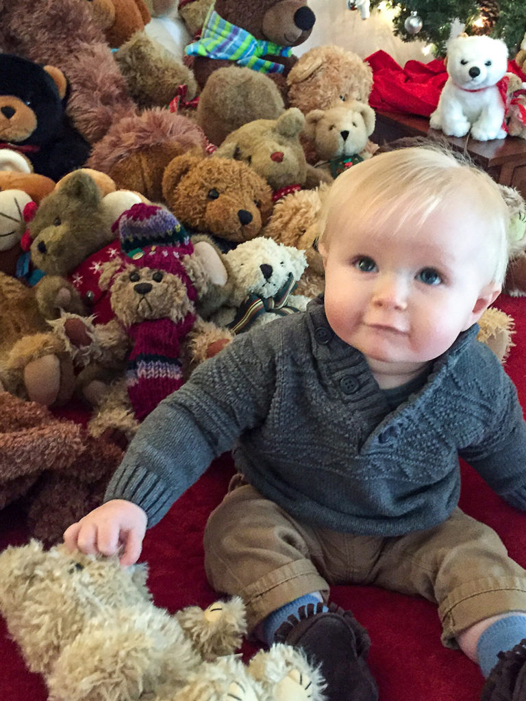 Enjoying the Martha's Vineyard Teddy Bear Suite - Donate Now