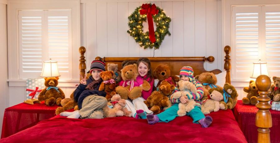Martha's Vineyard Teddy Bear Suite Fundraiser Opens On December 1, 2017 At The Harbor View Hotel Edgartown