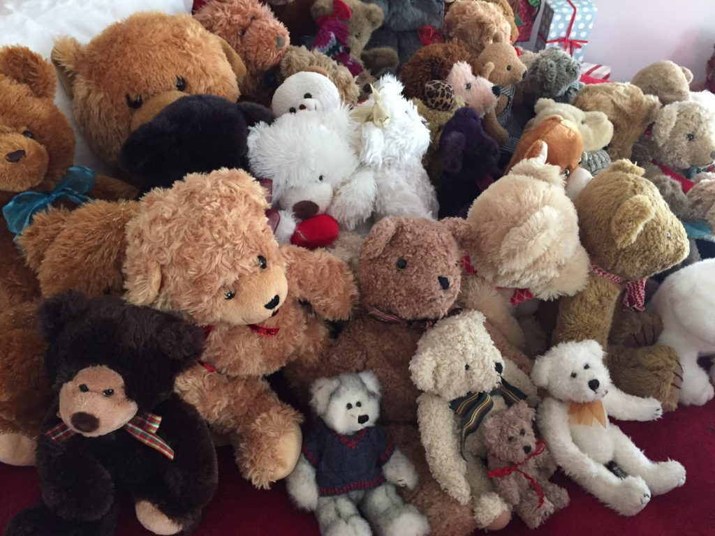 Walsh Family Teddy Bear Donation Hundreds Of Bears From Their Family Collection