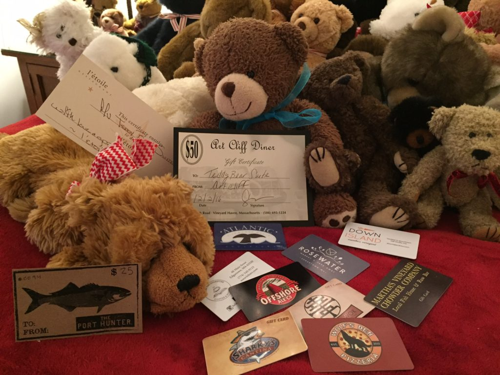 Martha's Vineyard Teddy Bear Suite Fundraiser Raffle