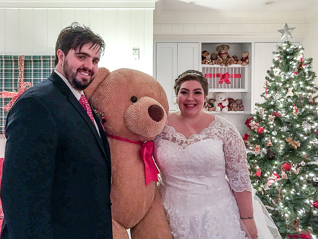 Martha's Vineyard Teddy Bear Suite Hosts Bride & Groom At Harbor View Hotel Edgartown