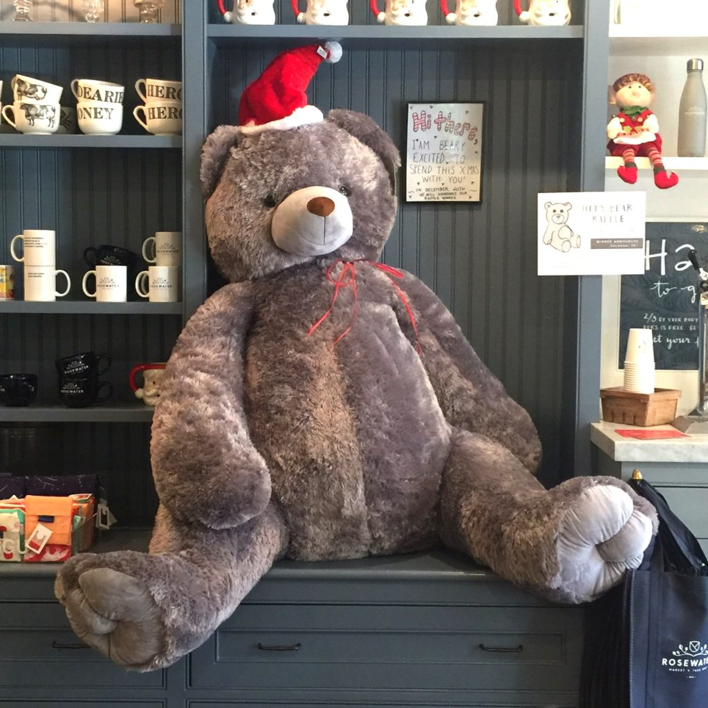 Rosewater Market In Edgartown Joins Martha's Vineyard Teddy Bear Suite Fundraiser