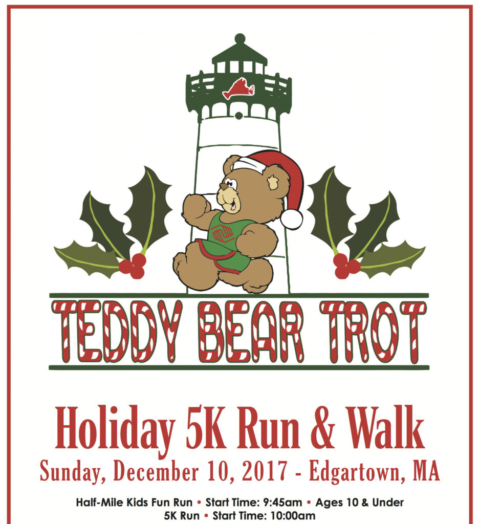 Martha's Vineyard Teddy Bear Suite Fundraiser: Teddy Bear Trot 5K Run Registration