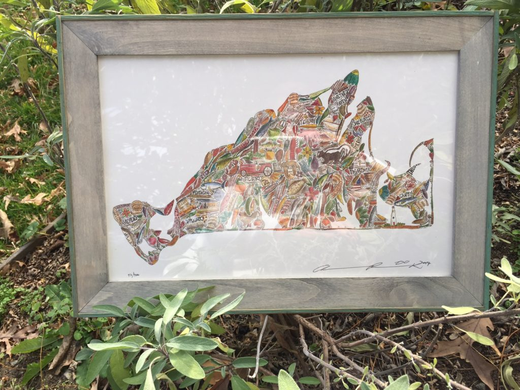 Martha's Vineyard Artist Abraham Pieciak Lurefish Holiday Raffle