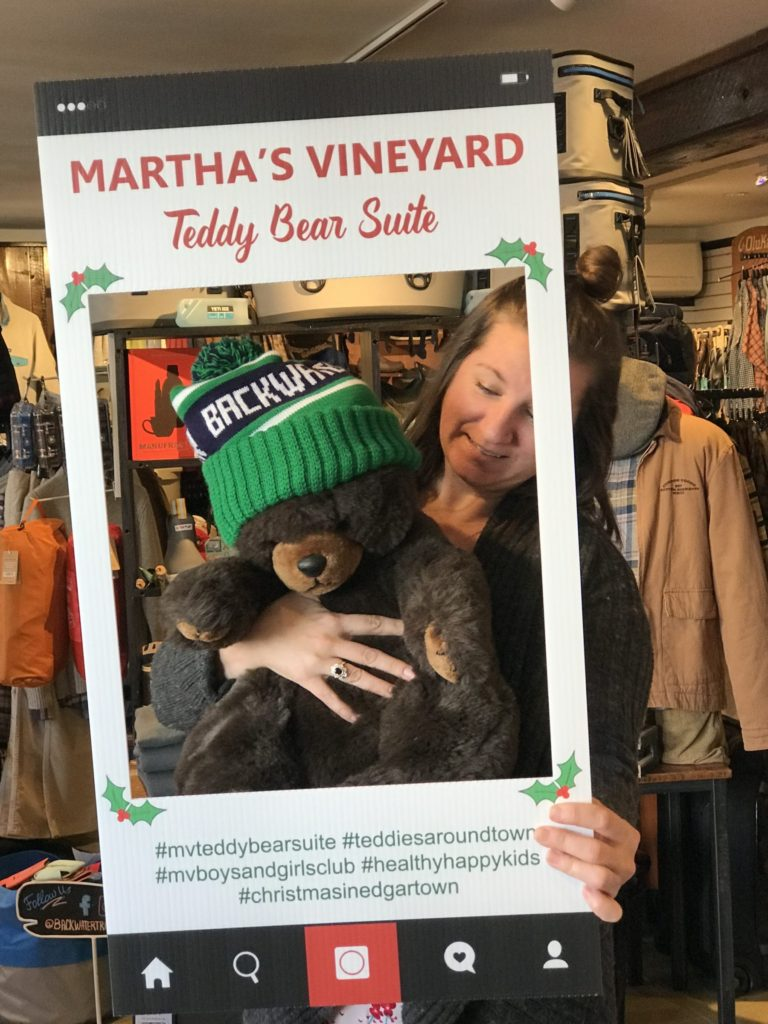 Teddies Around Town Business That Raised most Money: Backwater Trading Company Edgartown