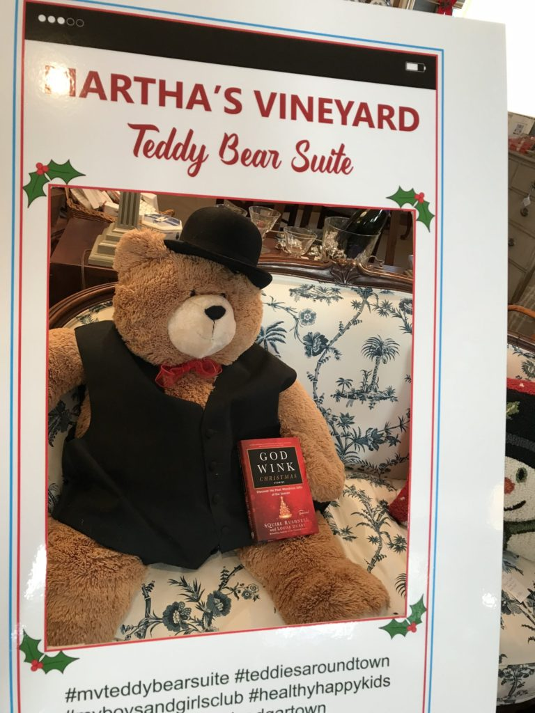 Teddies Around Town Joins Martha's Vineyard Teddy Bear Suite Fundraiser