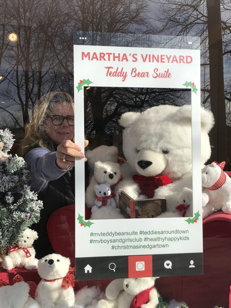 Teddies Around Town At The Christina Gallery Edgartown